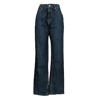 Lee Men's Straight Jeans 32x32 Relaxed Fit 5 Pockets Blue