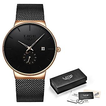 Fashion Watches Casual Waterproof Quartz Clock Top Brand Luxury Ultra-thin Date