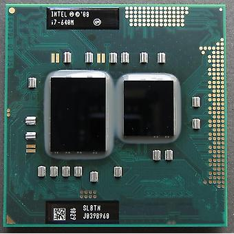 I7 640m, Slbtn Dual Core, 2.8ghz/ L3 4m, Cpu Processor Hm55
