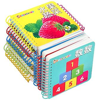 Early Education Preschool Learning Chinese Tekens Picture Cards 10pcs / set