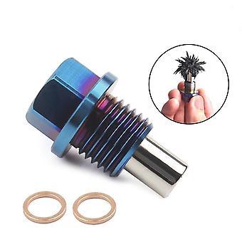 Titanium Alloy, Magnetic Oil Release Plug & Nut Bolt