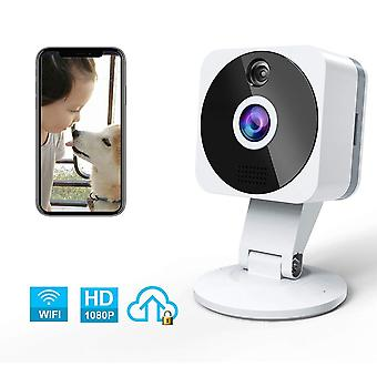 Pet dog camera,niyps hd 1080p wireless wifi ip camera indoor nanny cam home security camera with two