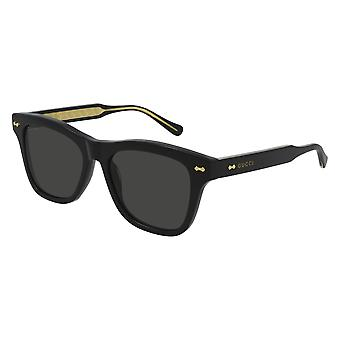 Gucci GG0910S 001 Black/Grey Sunglasses
