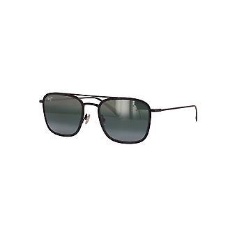 Maui Jim Following Seas 555 02 Gloss Black With Matte Black Rim/Neutral Grey Sunglasses