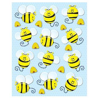 Autocollants de forme d'abeilles, Pakc de 72