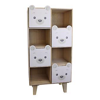 Baby Bear Four Drawer Storage Unit