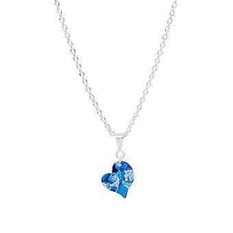 Silver Petit Heart Pendant Necklace - Available In More Colors