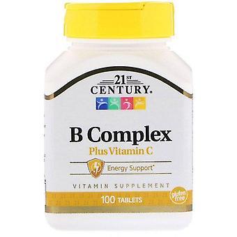 21st Century, B Complex Plus Vitamin C, 100 Tablets