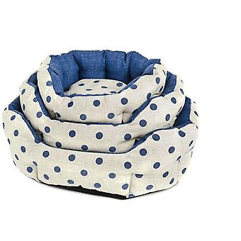 Ferribiella Ovale Pois S Bed (Dogs , Bedding , Beds)