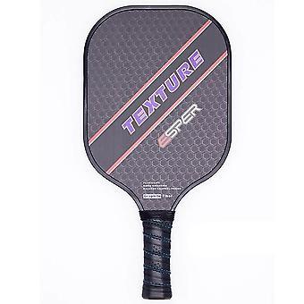 Pickleball Paddle Lightweight Graphite Racquet Textured Surface Racket (black)