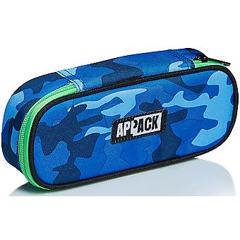 Oval Sachet Appack, Yuzer, Blue, Pen Holder School with Pen Holder Organizer
