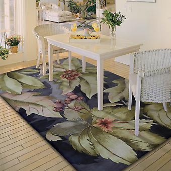 Nourison trópicos alfombras Ts03 ciruela