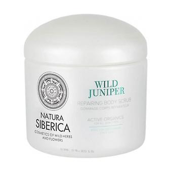 Wild Juniper Repair Body Scrub 370 ml of cream