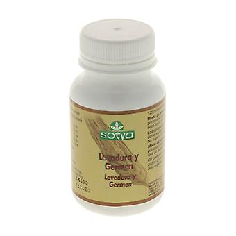 Wheat Germ Brewer's Yeast 125 tablets