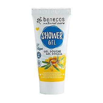 Sea Buckthorn and Orange Shower Gel 30 ml of gel (Orange)