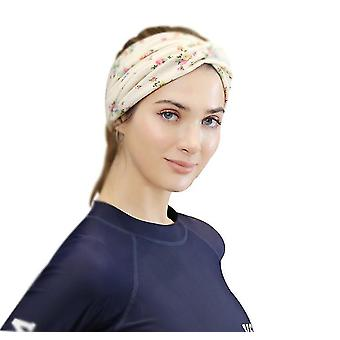Hair Accessories Rose Flower Knotted Headband Hairband Headdress Wholesale Cross Headband