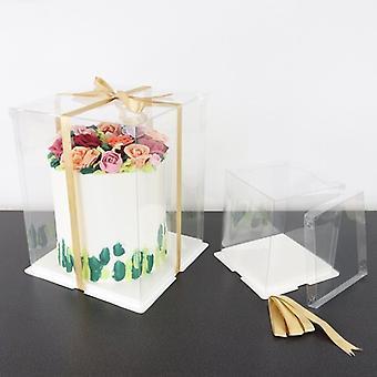 "PME Crystal Cake Box - 6"""