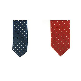 ShowQuest Lurex Medium Spot Tie