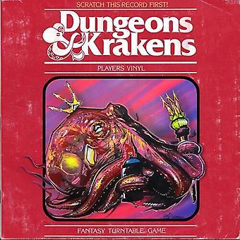 Dj Because / Dj Efechto - Dungeons & Krakens [Vinyl] USA Import