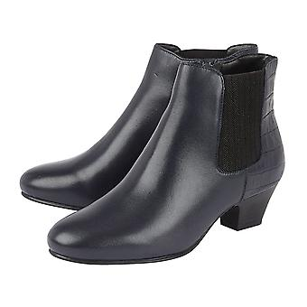 Lotus VICTORIA  Ankle Boots (Size 6) - Navy Blue Colour