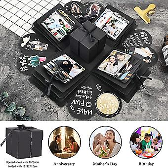 Surprise Gift Box For Mom Friend Wife Girlfriend Daughter Manual DIY Photo Valentine's Day Party Wedding Creative Gift