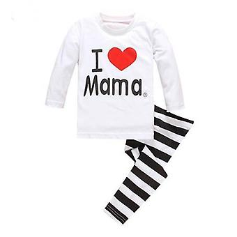 Infantil Sleepwear Clothing Cartoon Cotton Baby Pijama
