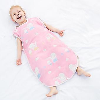 Baby Muslin Gauze Sleeping Bag, Infant Sleeping Gown