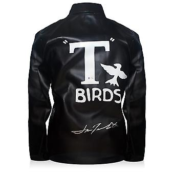 John Travolta Signé T-Birds Veste