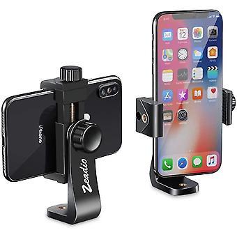 HanFei Universal Smartphone Stativ Adapter, Handy-Halterung, Selfie Stick, Einbeinstativ,