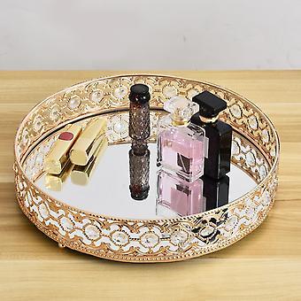 Skandynawski styl dekoracyjny lustrzany taca dla organizacji