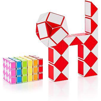 HanFei Magic Snake mit 36 Blcke - Knobelspiele fr Kinder und Erwachsene - ideal als Mitgebsel