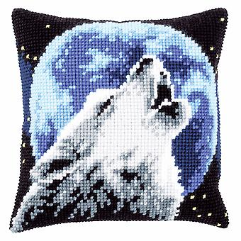 Vervaco Cross Stitch Kit: Coussin: Loup