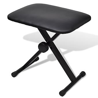 vidaXL Adjustable Piano Stool Piano Bench Folding