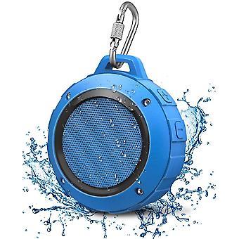 Wasserdicht Bluetooth Lautsprecher, Kabellos Mini Dusche Lautsprecher mit HD Stereo, 8 Stunde