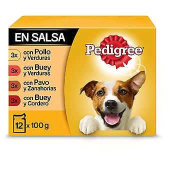 Pedigree Wet Food for Dogs Multipack Mixed Flavors in Sauce (Dogs , Dog Food , Wet Food)