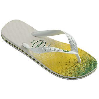 Havaianas Brasil Fresh Flip Flops White 03