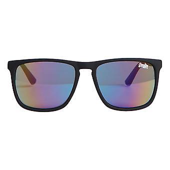 Superdry SDR Alumni Sunglasses - Rubberised Black / Triple Fade Mirror