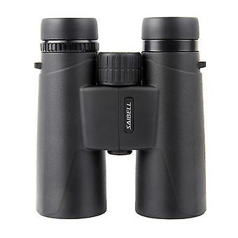 Jumelles adultes puissantes 12X42, jumelles compactes avec lentille FMC, anti-brouillard et imperméable à l'eau, jumelles vision nocturne pour l'observation des oiseaux, voyage, chasse et concerts (noir)