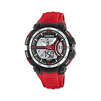 Calypso Watches Analog-Digital Watch Quartz Man with Plastic Strap K5779/2