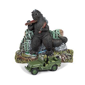 Willys Jeep (With Diorama) from Godzilla