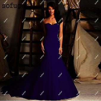 Sexy Tüll Trompete Meerjungfrau Brautkleider (Set 2)