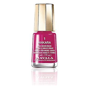 Nail polish Nail Color Mavala 01-ankara (5 ml)