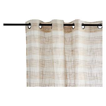 Rideaux Brown Stripes Marron clair (260 x 140 cm)