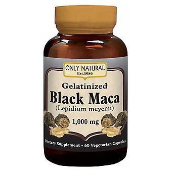 Only Natural Black Maca, 60Veg Caps