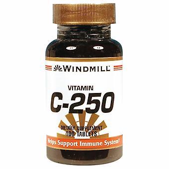 21st Århundre Vitamin C, 250mg, 100 Faner