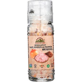 Himalayan Chef Grndr Salt Hmlyan Pepr Re, Case of 6 X 3.53 Oz