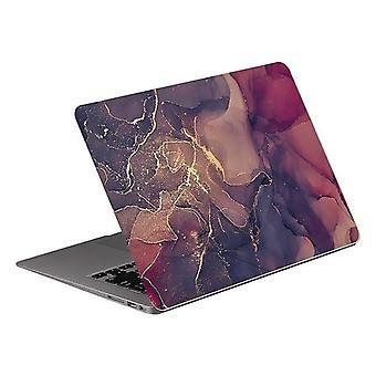 new ax-022 17-inch marble laptop sticker skin 12 13 14 15 17 inch sm46084