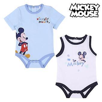 Leotard Mickey Myš modrá / biela (2 uds)