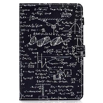 Case For Ipad 9 10.2 2021 Cover With Auto Sleep/wake Pattern Magnetic - Equation