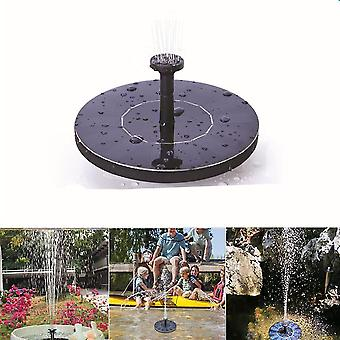 Floating submersible lights mini solar floating fountain for pond